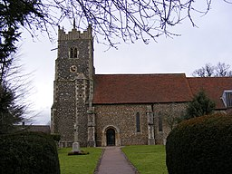 St. Andrew's Church, Rushmere St Andrew - geograph.org.uk - 1128462.jpg