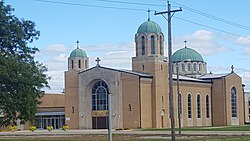 St. Clement Ohridski Orthodox Church, Dearborn, Michigan.jpg