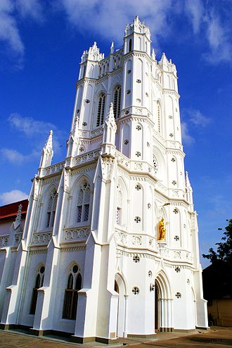Roman Catholic Archdiocese of Trivandrum - St. Joseph's cathedral, Thiruvananthapuram