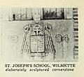 St. Joseph School cornerstone Wilmettesuburban00mulf (page 106 crop).jpg