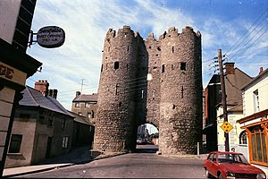 Siege of Drogheda - St Laurence's Gate – the last remaining of the ten original defensive gates