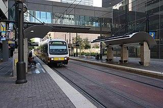 St. Paul station (DART) railway station in Dallas