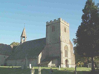 Castle Eaton - Image: St Marys Church Castle Eaton rear