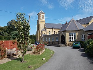 St Cecilias Abbey, Ryde