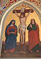 St Lorenzen im Gitschtal - Pfarrkirche - Seitenaltar - Kreuzigung.jpg