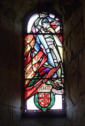 Battle of Falkirk - St Margaret's Chapel - William Wallace window