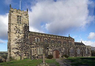 St Michael and All Angels Church, Mottram Church in Greater Manchester, England