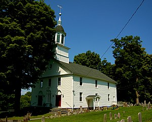 St. Paul's Lutheran Church, Parsonage and Cemetery - Image: St Pauls Lutheran Church Rhinebeck NY