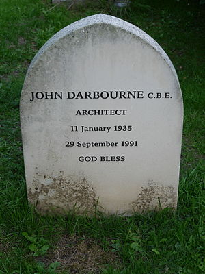 John Darbourne - Funerary monument, St Peter's Church, Petersham