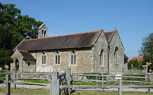 Ashington, West Sussex - Image: St Peter and St Paul's Church, Ashington geograph.org.uk 46919