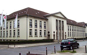 Prime Minister of Lower Saxony - The State Chancellery in Hanover is the official residence of the Prime Minister of Lower Saxony