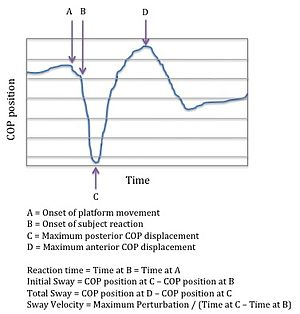 Maternal physiological changes in pregnancy - As measured by a force platform, parameters used to measure postural stability. Adapted from McCrory et al. 2010