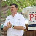 Stacey Pickering speaking at the Neshoba County Fair.jpg