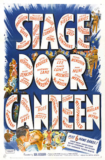 <i>Stage Door Canteen</i> (film) 1943 film by Frank Borzage