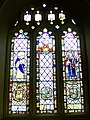 Stained glass window, St Michael's Church, Doddiscombsleigh - geograph.org.uk - 1308697.jpg