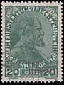 StampLiechtenstein1918Michel10.jpg