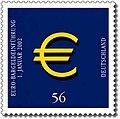 Stamp Germany 2002 MiNr2234 Euroeinführung.jpg