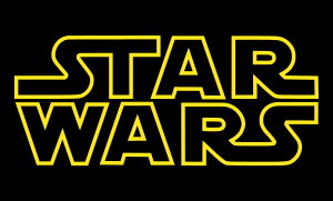 Opening logo to the Star Wars films
