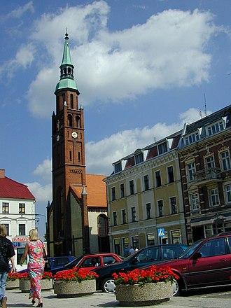 Starogard Gdański - Main square