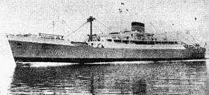 MV Lisboa -  Port Melbourne