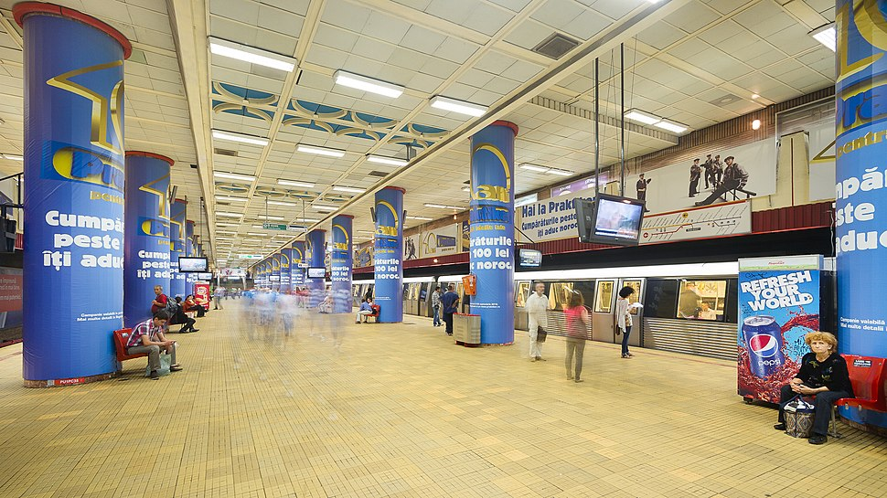Statie Metrou - Piata Unirii