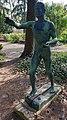 Statue Gemeindepark Lankwitz (Lankw) Statue&IBM Deutschland&1959.jpg