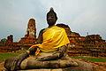 Statue de Bouddha Ayutthaya.JPG