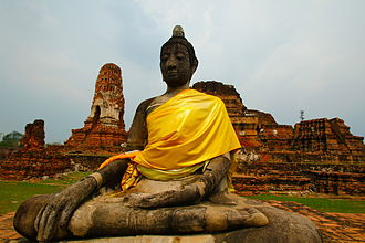 History of Thailand - The city of Ayutthaya was destroyed by the Burmese invaders in 1767 CE.