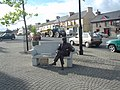 Statue of Percy French in the Town Square of Ballyjamesduff. - geograph.org.uk - 341425.jpg