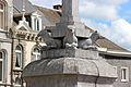 Stavelot Fontaine monumentale du Perron, place Saint Remacle détail.jpg