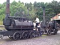 Steam Elephant & Puffing Billy, Pockerley Waggonway yard, Beamish Museum, 2 August 2010.jpg