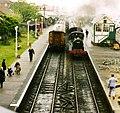 Steam engine, Sheringham Station - geograph.org.uk - 1108490.jpg