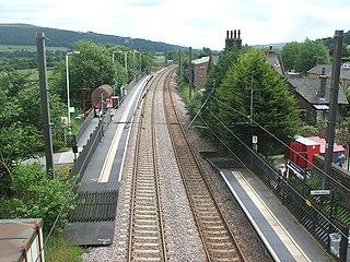 Steeton and Silsden railway station Railway station in West Yorkshire, England