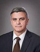 Ritratto del primo ministro ad interim Stefan Yanev