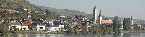 Stein a d Donau Panorama