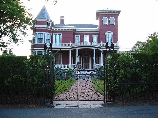 Дом Стивена Кинга в Бангоре
