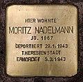 Stolperstein Bregenzer Str 9 (Wilmd) Moritz Nadelmann.jpg
