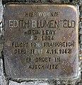 Stolperstein Bundesplatz 2 (Wilmd) Edith Blumenfeld.jpg