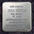 Stolperstein Duisburger Str 19 (Wilmd) Rosa Hirsch.jpg