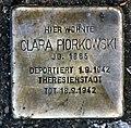 Stolperstein Goßlerstr 9 (Fried) Clara Piorkowski.jpg