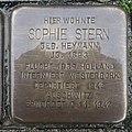 Stolperstein Goch Mühlenstraße 44 Sophie Stern.jpg