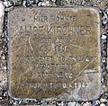 Stolperstein Havensteinstr 18 (Lankw) Alice Kirchner.jpg