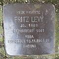Stolperstein Herford Credenstraße 17 Fritz Levy.JPG
