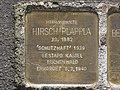 Stolperstein Hirsch Plappla, 1, Pferdemarkt 5, Wesertor, Kassel.jpg