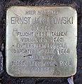 Stolperstein Holsteinische Str 22 (Wilmd) Ernst Jakubowski.jpg
