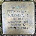 Stolperstein Kleve An der Münze 7-9 Fritz Feiwel Mandelbaum.jpg