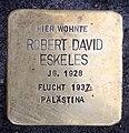 Stolperstein Meinekestr 3 (Charl) Robert David Eskeles.jpg