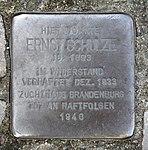 Stolperstein Strausberger Platz 12 (Frhai) Ernst Schulze.jpg