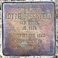 Stolperstein Wetzlarer Str 23 (Wilmd) Lotte Sternfeld.jpg