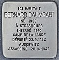 Stolperstein für Bernard Baumgart (Bordeaux).jpg
